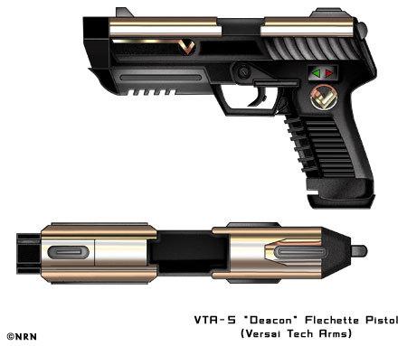 VTR-5 Flechette Pistol