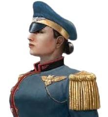 "Captain Agnes ""Ironsides"" Hawthorne"