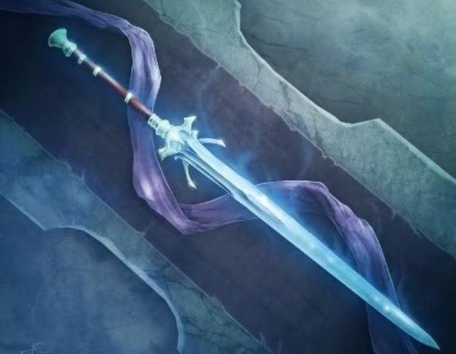 Glassis, L'épée de glace