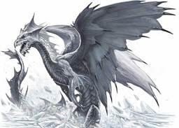 Szartharrax the White Dragon