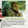 Trex -  The Bounty Hunter