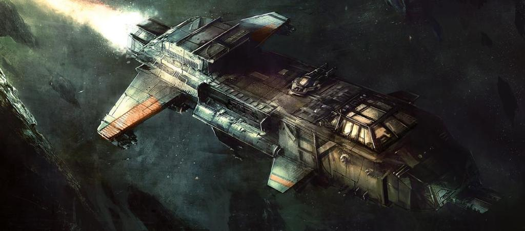 Vehicle: Starhawk Bomber