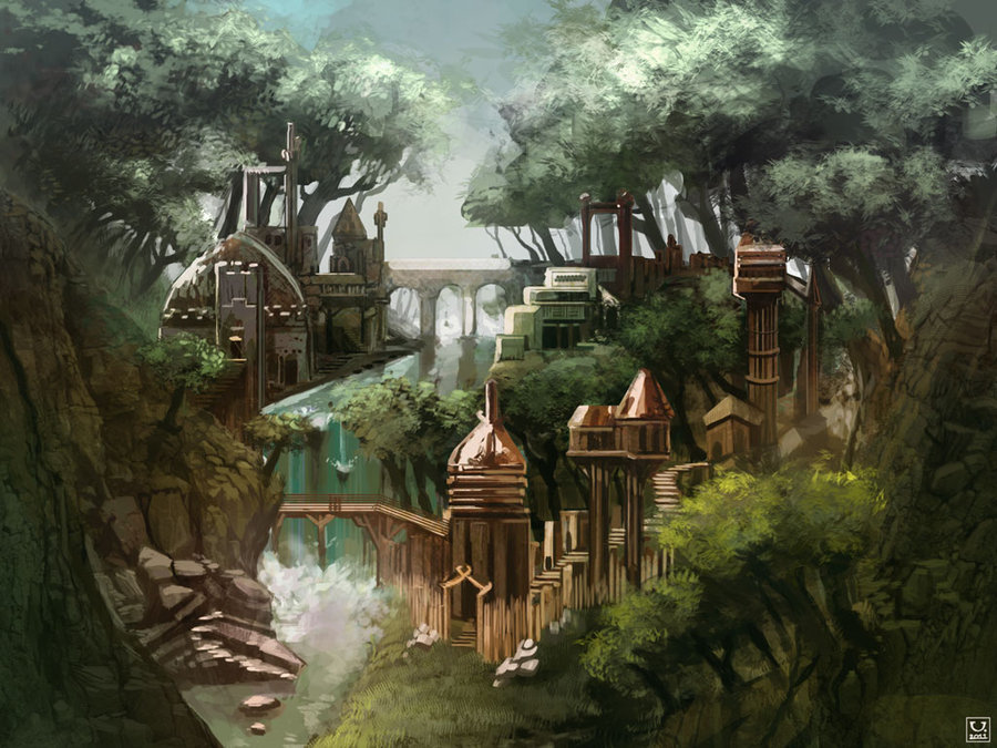 Elven City of Anartha, Forest of Divindell