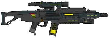 Energy Rifle, Laser