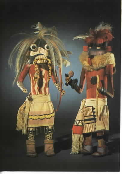 Rattlesnake Clan Kachina Doll