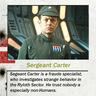 Sergeant Carter
