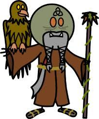 Jeff, the Scruffy Druid