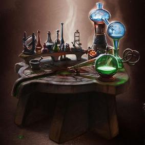 Großes Alchemisten Labor
