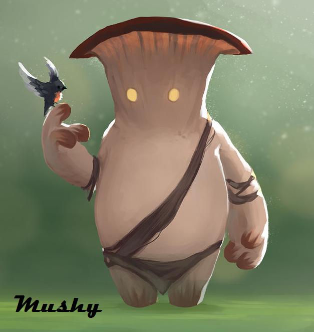 Mushy!