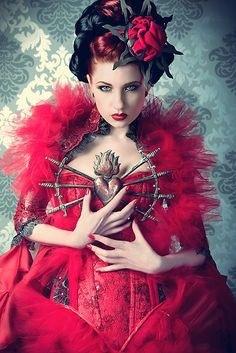 The Queen of the Bleeding Heart