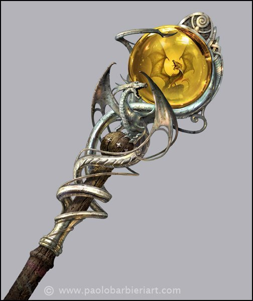 Syberys Spellstaff of Focus