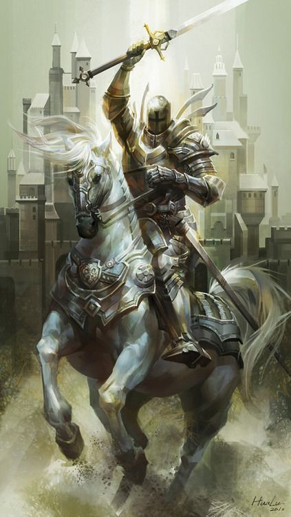 Ser Fulgrim, Questing Knight