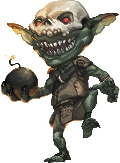 Jeerlock Fleshburn the Goblin Elementalist