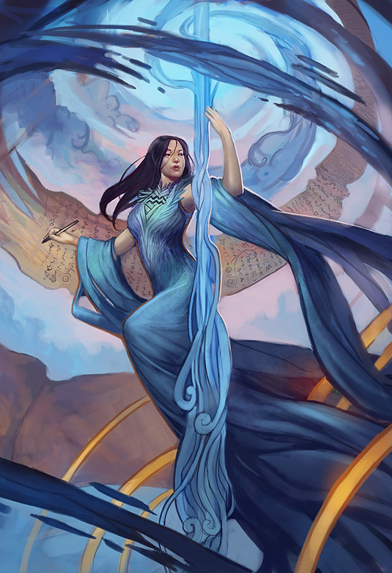 """Caslin """"Lin"""" Selwyn, Scribe of the Oceans"""