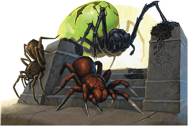 Monstrous Spider (Medium)