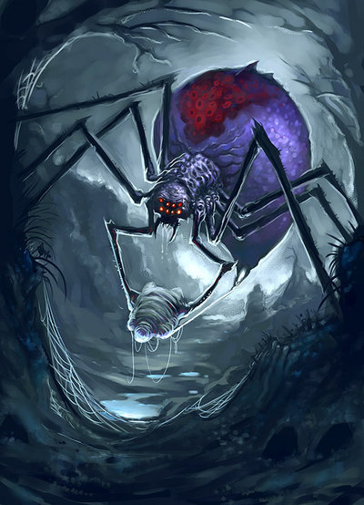 Monstrous Spider (Large)