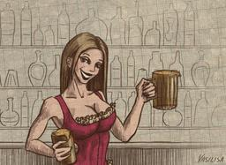 Barmaid of the Tipsy Gipsy