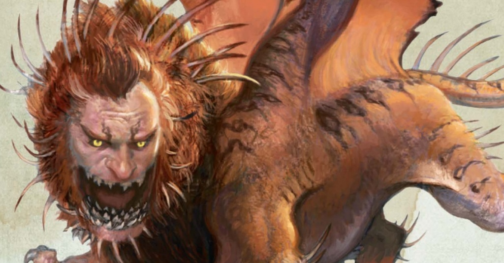 Icarus, Manticore of the Crags