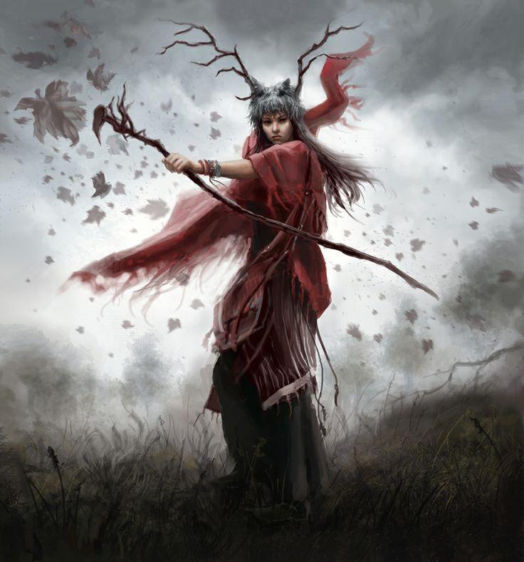 Brunnhilde, Druid of Icewind Pass