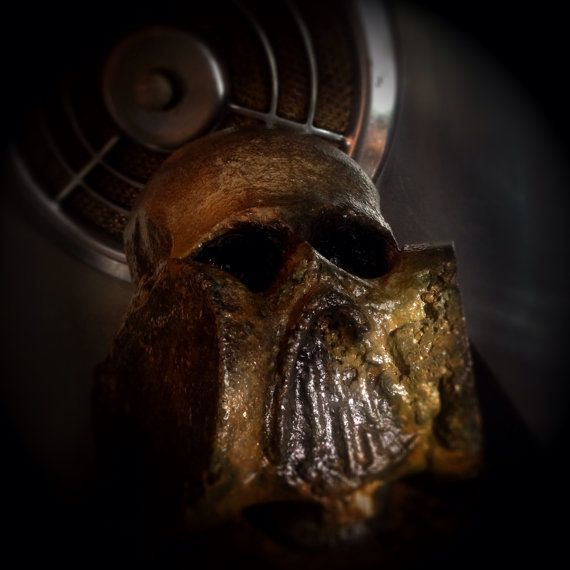 Corroded Gas Mask