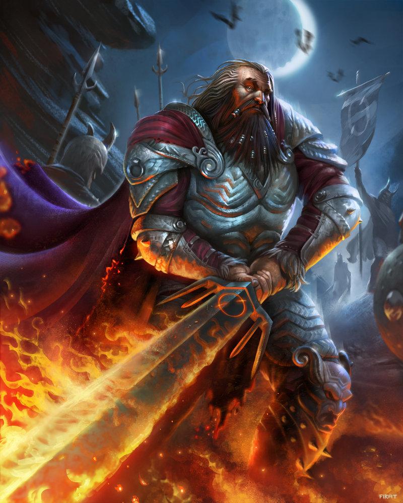 King Torhild Flametongue