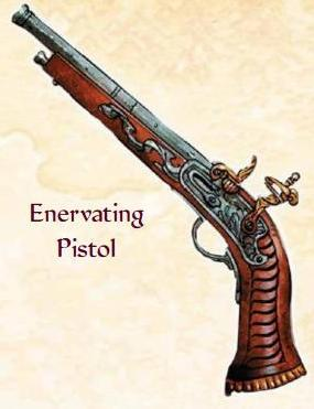 Enervating Pistol