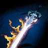 Fire Salamander's Flaming Scimitar
