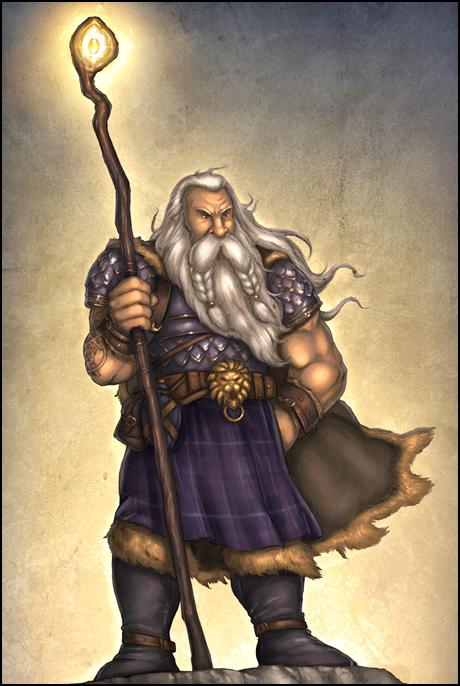 Darius - Cleric of Moradin