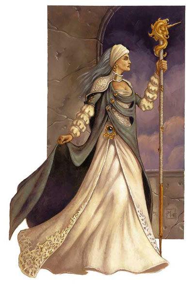 Lady Alustriel Silverhand