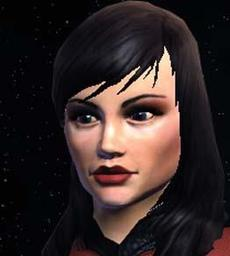 USS Claymore - Lieutenant Commander Nadira Farrad