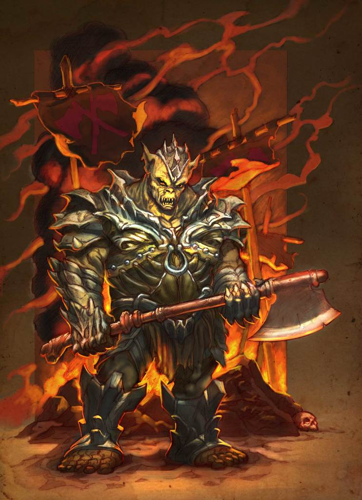 The Orc Lord