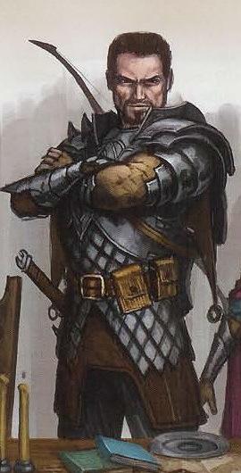 NPC - Captain Lars Ulverth