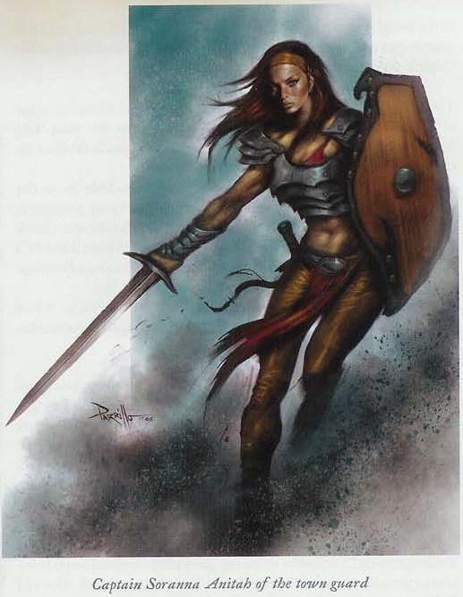 NPC - Captain Soranna Anitah