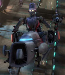 Coruscant Police Droid