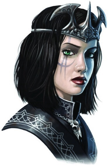 Majestrix Abrogail II of the House of Thrune