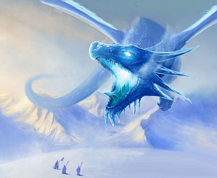 Cumach-Deigh, el Dragón de Hielo