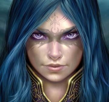 """Banu'laleh """"Blue"""" Rousanak-Pari"""