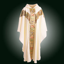 Fine silk priestly vestment