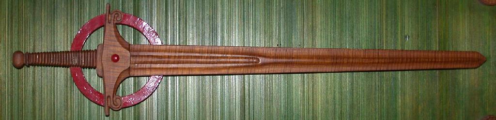 Wooden longsword