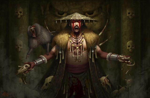 Bai Bon Wei, The Sorcerer