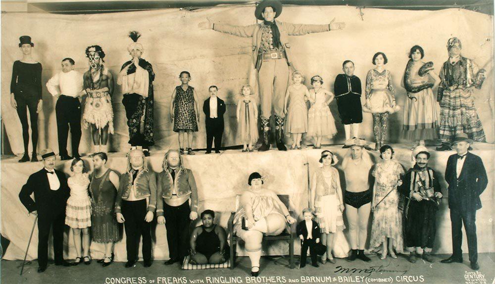 Cirkuszi torzultak