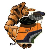 Ferro-Fibrous Armor (Prototype)
