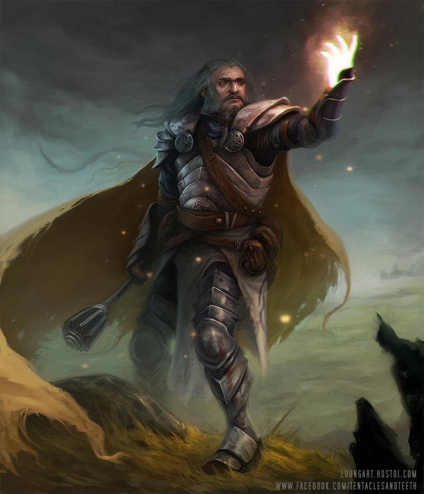 Urriok, the Light-Wielder