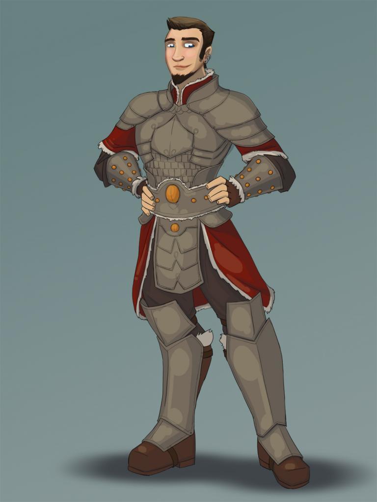 Jace Dawnbringer, Human Cleric of Secomber