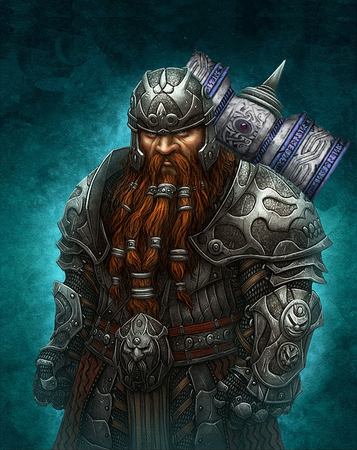 Fargrim Ironbelly, Shield Dwarf of Mount Illefarn