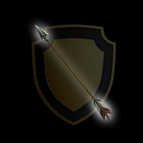 Eagle Feathered Arrow
