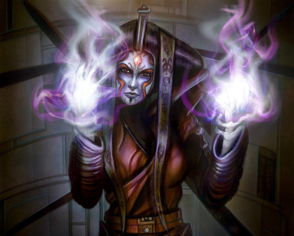Nightsisters of Dathomir Allya Shadow Magic