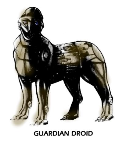 Cybot Galactica Guardian Droid