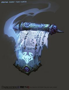 Scroll of Protection From Evil