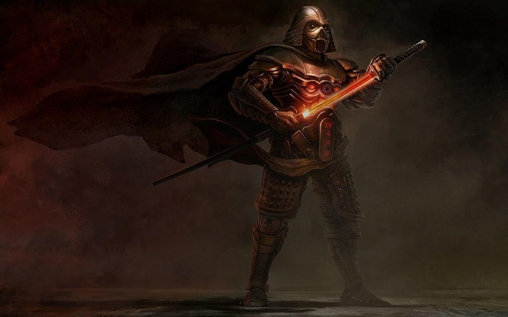 Demon Faced Samurai Armor